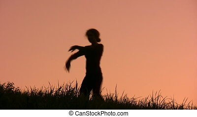 dancing girl - The dancing girl