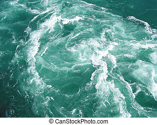 the dangerous whirlpool in Niagara river