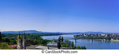 The Danube curve panorama