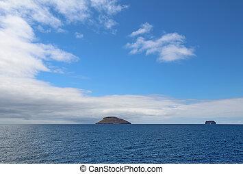 The Daphne Islands in the Galapagos chain, Ecuador