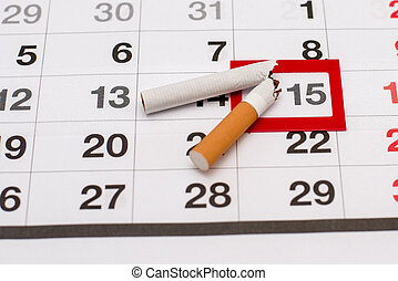 The day when you need to give up the bad habit of Smoking and start a new life without cigarette