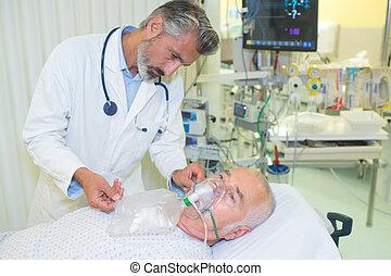 the dead patient