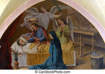 The death of St. Joseph