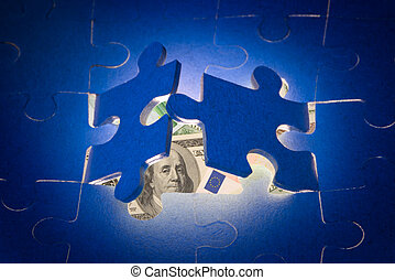 The decision of financial problems. - It is a metaphor (new...