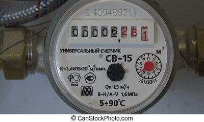 The defective meter of water. The countdown. 4K.