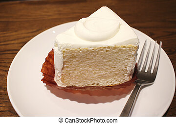 the delicious white cake