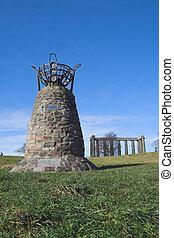 The Democracy Cairn, Calton Hill, Edinburgh - The Democracy...