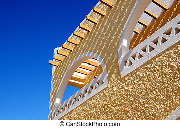 The details of luxury hotel architecture, Sharm el Sheikh,...