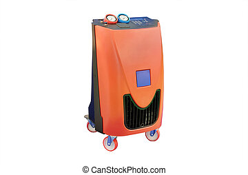 The device for air-conditioner check