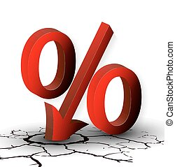 The discount percentage or low pric