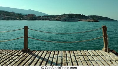 The Dock and the Sea