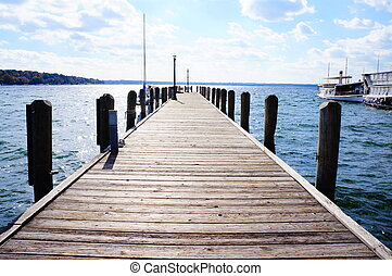 The Dock in Lake Geneva