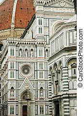 The dome of Florence details