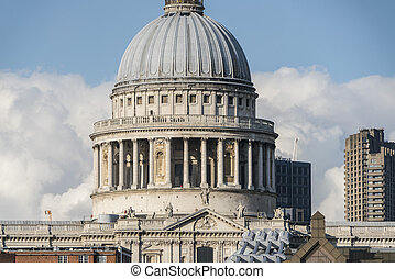 The Dome of St. Paul´s Cathedral London