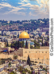 The dome of the rock in Jerusalem, Israel