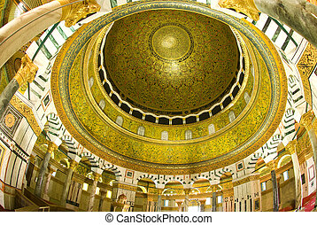 the dome of the rock mosque