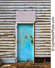 The Doorway - Old Blue Door