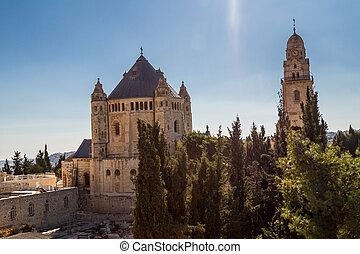 The Dormition Abbey in Jerusalem