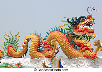The Dragon of Chinese sculpture.