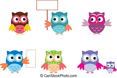The Drawn Owls, Different Types