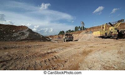 The dump truck