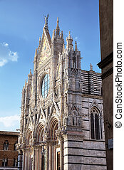 The Duomo (cathedral) of Siena.