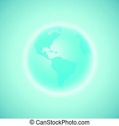The Earth. Vector illustration