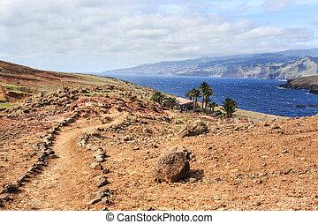 The east coast - Sao Lourenco trail on the east coast of...