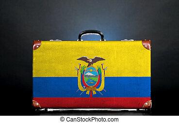 The Ecuador flag