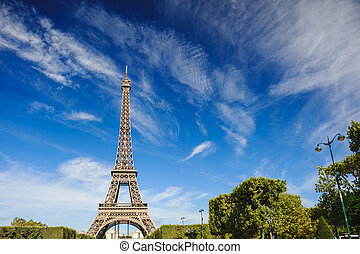 The Eiffel Tower, Paris. France