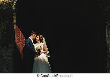 The elegant brides