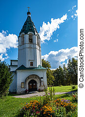 The Elias Orthodox Church built in 1790 in Palekh, Russia...