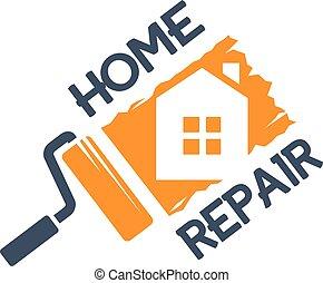 The emblem of home repair.