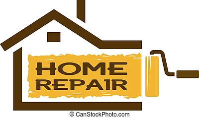 The emblem of home repair services.