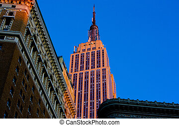 The Empire State Building, Manhattan, New York City, USA