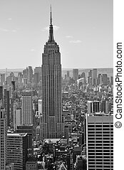 Empire State Building - The Empire State Building, shot from...