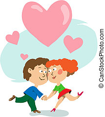 The enamoured speak in love