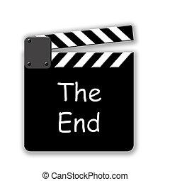 The End - Movie Cut Slate