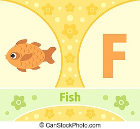 The English alphabet , Fish