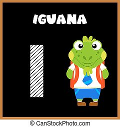 The English alphabet letter I