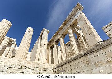 The entrance to Acropolis