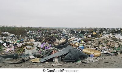 The Environment, Garbage Dump In Ukraine
