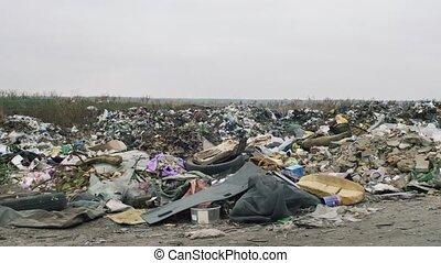 The Environment, Garbage Dump In Ukraine