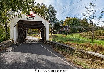 The Erwinna Covered Bridge