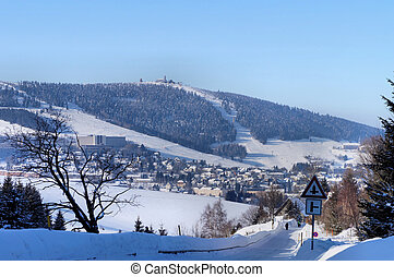 The Erzgebirge in Saxonia