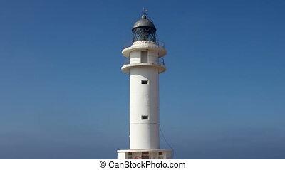 the Es Cap de Barbaria lighthouse in formentera