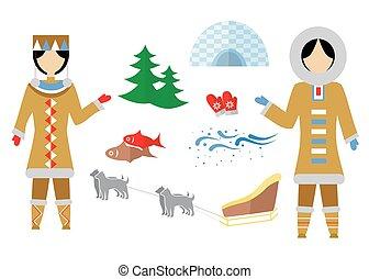 the Eskimo set