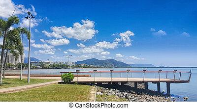 he esplanade in Cairns North Queensland