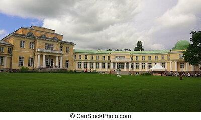 The estate Marino in the Leningrad region. Shot in 4K...