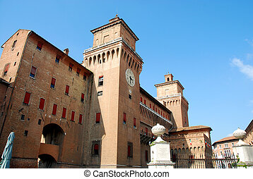 The Este Castle of Ferrara - Italy